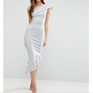 ASOS One Shoulder Gorgeous Dress 💙